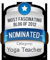 Fascination Awards Yoga Teacher nomination